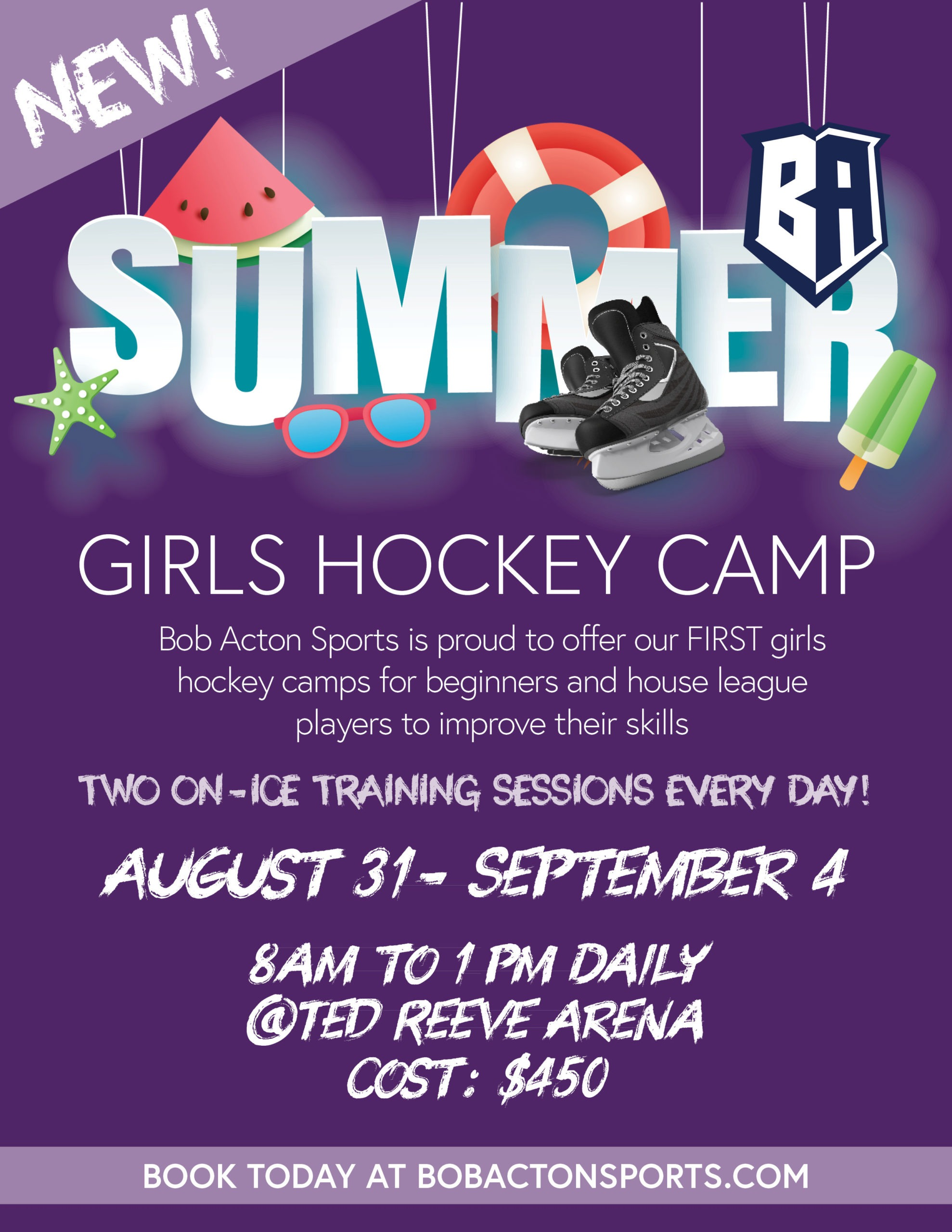 GIRLS HOCKEY CAMP